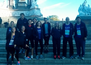Sotheby's running team