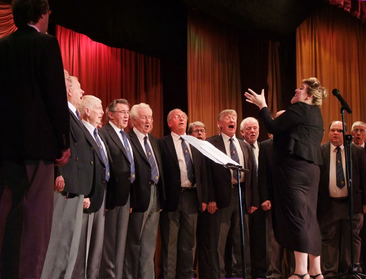 Fron Male Voice Choir charity concert