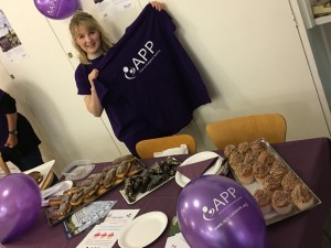 cake sale for Action on Postpartum Psychosis
