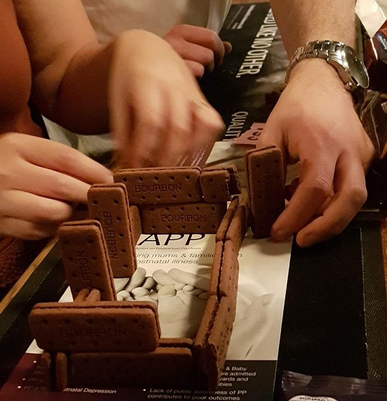 Trying to make chocolate houses