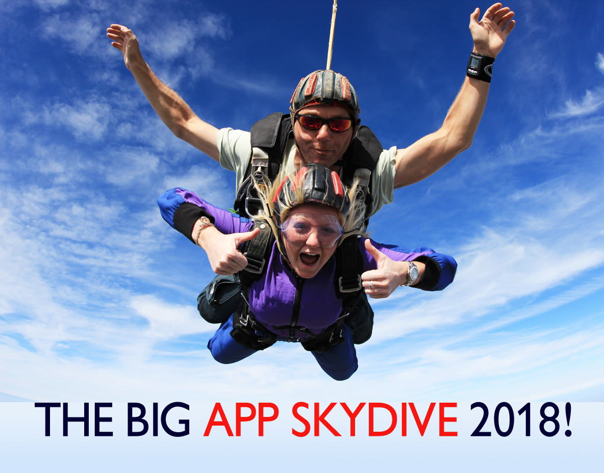 The BIG APP SKYDIVE 2018! | Action on Postpartum Psychosis