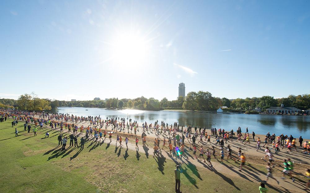 Royal Parks Foundation Half Marathon 2016